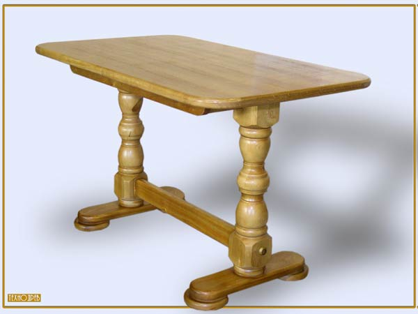 Мебель и декор. Раздел. Кухонные столы раскладные Стол2КР - Богдан Размеры - 1200x700 (1600x700)мм Материал - сосна